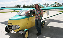 James May with the 1950s Sky Car